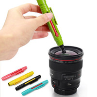 Wholesale High quality Two Side Camera Cleaning Lens Cleaner Fiber Pen for DSLR Camera CCD Filter for Canon Nikon Pentax