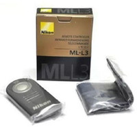 Wholesale Genuine ML L3 Wireless Remote Control for nikon D40 D40X D50 D60 D70 D70S D80 D90 D600 D3000 D5000