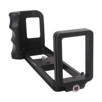 camera hand grip - L Vertical Bracket Metal Aluminum Hand Grip w Quick Release Bracket for FUJI X PRO1 Camera