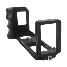 Wholesale L Vertical Bracket Metal Aluminum Hand Grip w Quick Release Bracket for FUJI X PRO1 Camera