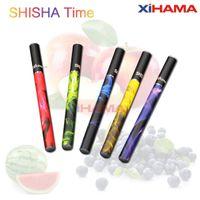 280mah 500 puffs  ShiSha Time E Hookah Pipe Pen E HOOKAH 500 Puffs with 280mah 19 Fruit flavor in stock disposable electronic cigarette EGO Cigarette