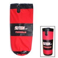 Wholesale 2014 New cm Three Layer Thicken Hollow Sandbag Fitness MMA Muay Thai Kick Boxing Punching Bag Sandbag with Chain H10559
