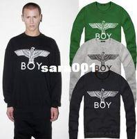 Cotton Cardigan Hoodies,Sweatshirts BIGBANG Cheap BOY LONDON hoodies winter hiphop skateboard o-neck size M to 4XL wholesale 8 COLORS