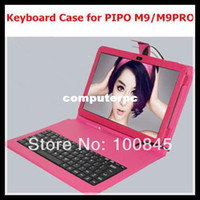 7'' For Apple For Ipad 2/3 Exclusive Keyboard case for Tablet PC PiPo M9,M9PRO, M9PRO 3G Tablet PC etc