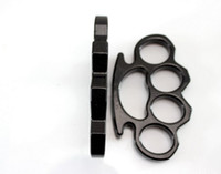 art items - Black glove handcuff iron fist iron four pointed Tiger Martial Arts items Drop shipping