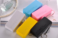 Wholesale Free DHL mAh large Perfume Power Bank Portable External Backup Battery USB Charger For s5 mobile phone