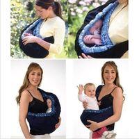 Wholesale Infant newborn Baby carrier Sling wrap swaddling kids Nursing Papoose bag Pouch