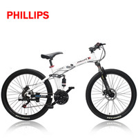 Wholesale High quality Moutain bike speed damping front fork Folding MTB bicycle Shi ma no double disc brakes