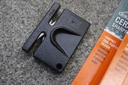 Wholesale Baer mini portable duplex ceramic sharpener outdoor multifunctional sharpener for sharpening stone