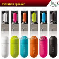 New X-Vibe Vibration Mini haut-parleur pour téléphone portable lecteur mp3 Turn Tout en poste Président China Free