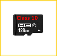 TransFlash Cards   128 GB Micro SD-TF Memory Card Class 10 With Adapter 128GB Micro SD SDHC SD Card Class 10 TF Memory Cards with Free SD Adapter DHL Shipping