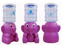 0 Plastic Desktop Elephant Mini Desktop Water Dispenser 8 Glasses Cartoon Water Dispenser Water Fountain For Office Lady Free Shipping