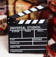 cutting board - Novelty Items New Arrival Director Video Scene Clapperboard TV Movie Clapper Board Film Slate Cut Prop amp