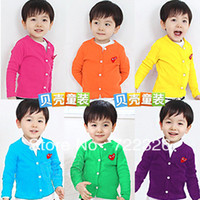 Unisex Spring / Autumn V-Neck Free shipping 2013 summer heart clothing boys girls clothing baby cardigan wt-0679 sun protection clothing