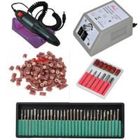 professional electric nail drill - Electric Professional Nail Art Drill nail drill bit sanding bands