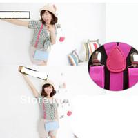 Wholesale 2pcs New Hot Sale Plain Clip on Y back Elastic Adjustable Braces Suspenders Unisex Colors