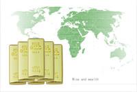 Wholesale Latest price Bullion Gold Bar USB Flash Memory Drive Stick U disk GB Pen drive U disk Iron box