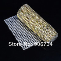 diamond mesh wrap - Home Decoration Rhinestone Looking Ribbon quot Yards Wedding Diamond Mesh Wrap Roll Sparkle