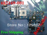 Wholesale Free ship Warranty INTEL MAINBOARD for HP dv6 Laptop motherboard ST10
