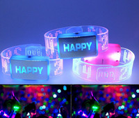Wholesale World Cup Football Sports led bracelet flash wrist glow bracelet light up bracelet