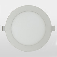 Wholesale LED panel light W round mm cut out mm slim downlight with driver high lumens two years warranty