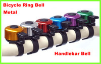 Wholesale Lowest Price Mini Metal Ring Handlebar Bell Sound for Bike Bicycle Free DHL shipping