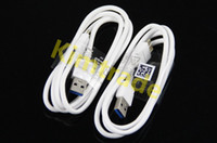 For Samsung   Charger Cable For Samsung Galaxy Note 3 Micro USB 3.0 Data Sync 1M 3ft Charging White Cords for Galaxy Note3 N9000 N9005 N9006 Hot Selling
