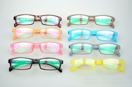Wholesale New Radiation Protection Eyeglasses LightWeight Optical Frame Memory Material Mix Colors Free Shipment