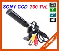 Wholesale HD Mini Bullet Outdoor Waterproof TVL Sony Effio CCD Color Hidden Wide Angle MM CCTV Security Camera for H DVR