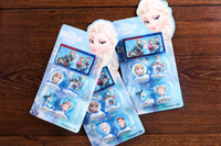 Wholesale Hot New Popular set Cartoon Frozen Children s cartoon stationery stamper set Fashion Gift