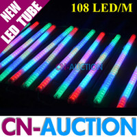 Wholesale FS Pixels Internal Controlled LED Digital Tube Colorful Led meter LED Guardrail Tube Outdoor Light CN LT96