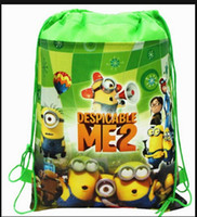 Wholesale New Arrival Quality Cute Despicable Me Minion Backpack Child PRE School Kid Boy and Girl Cartoon Bag styles