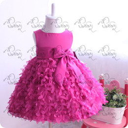 Wholesale 2014 Newest Girls Party Dresses Prince Kids Flower Fashion Polyester Dress For Toddle Chindren Wear High Quality