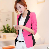 Fashion women business suits - Women Business Suits New Candy Colors Veste Femme Fashion Ladies Suit Jacket