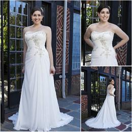 Robe de mousseline simple fronces en Ligne-Robe de mariée en satin de mariée en satin de mariée