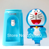 Wholesale Piece Liters DORAEMON Style Mini Water Dispenser Glasses Water Dispenser