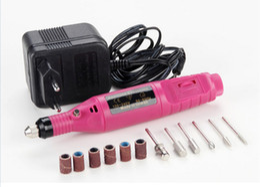 Wholesale Portable Manicure Pedicure Set Pen Shape Electric Nail Drill Machine Art Salon Manicure File Polish Tool Manicure Kits Bits