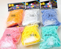 8-11 Years Multicolor Silicone DIY Loom Rubber Bands glow in the dark rubber bands for loom bracelets tie dye rubber bands loom bands luminous rubber bands diy bracelets