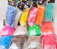 8-11 Years Multicolor Silicone rainbow looms bands loom rubber bands diy glitter rubber bands glow in the dark loom bands luminous rubber twistz band rubber loom bands