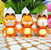 Wholesale good quality creative personality cartoon Garfield usb flash drive pendrive usb flash disk GB GB GB GB GB GB GB