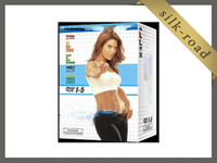 Wholesale Jillian Michaels Fitness dvds with art poster paper for Exercise Fitness Excercise Workout sets base kit DHL
