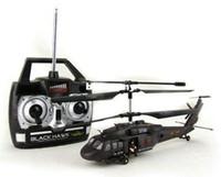 Precio de Helicópteros negros-YD919 Halcón Negro 3CH RC helicóptero con giroscopio para los regalos de Navidad el envío libre