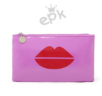 Wholesale Australian exports EPK fashion personality abstract pattern bright patent leather waterproof cosmetic bag clutch purseMR0510