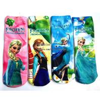 Wholesale Frozen Best Socks Child Clothes Kids Sock Baby Boys Girls Socks Children Socks Kids Boy Girl Knit Knee High Socks Child Sock Kids Clothing
