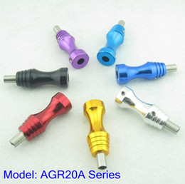 Wholesale 3pcs mm Aluminum Alloy Tattoo Grip With Back Stem AGR20A Series Supply