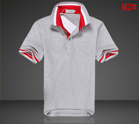 Men Polyester Polo size XXL XL L turn down collar t shirts Monklar T shirts summer t shirts fashion short sleeve Sweden Norway