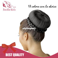 Brazilian Hair best fiber products - Smilco Hair Products Hair bun Cherry Dome L Colors Size CM Best Quality Yaki Fiber Easy to wear