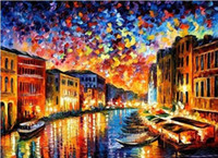 Wholesale New Home Decor Unfinished DIY Printed Needlework Sets Venice Landscape European Style Kits Cross Stitch For Set Embroidery