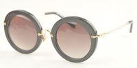 Wholesale MM Brand designer Sunglasse smu13ns Round Vintage gradient lens Sunglasses Women fashion brand designer Sunglasses with Original pink box