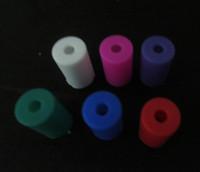 EGO CE4 CE5 CE6 CE9 H2 T2 T3 MT3 VIVI NOVA Clearomizer 7 colors Colorful Silicon Test Drip Tips Caps E Cigarette Disposable Tips Atomizer Cover For Ego CE4 CE5 CE6 Clearomizer E-cig Drip Tips